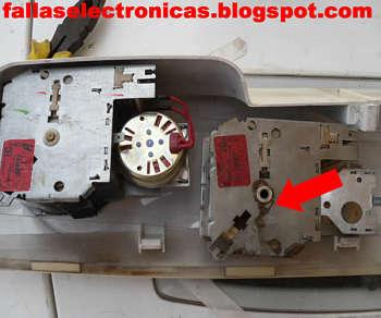 Cambio de timer lavadora electrolux ew907 - Como quitar el oxido del wc ...