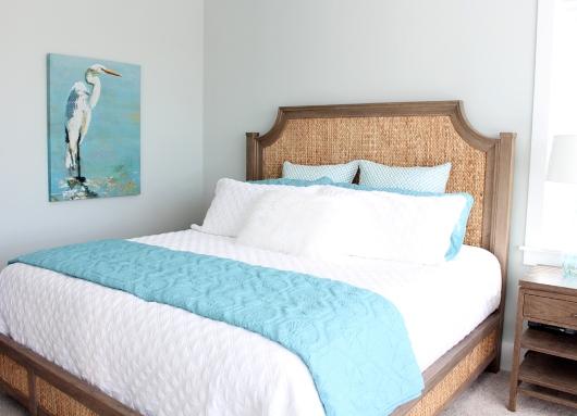 beds headboards for coastal room