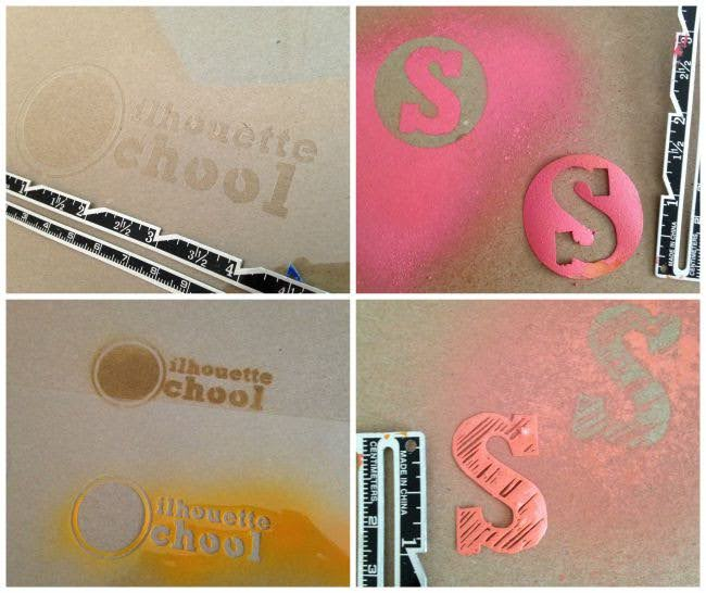 Silhouette Cameo, cookie stencil, DIY, do it yourself