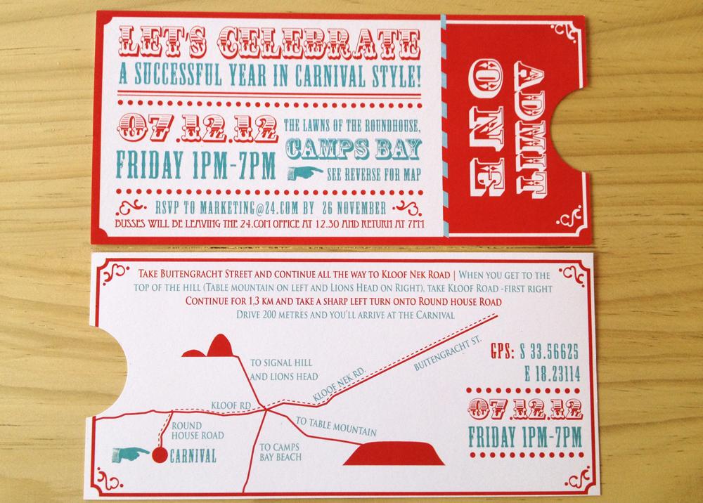 mocholoco carnival party invite