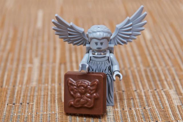 Lego - Advent Calendar - Calendrier de l'Avent - Lego - Doctor Who - Weeping Angel - Ange - Chocolat au lait