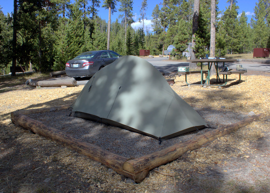 Camping in Norris Campground