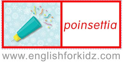 Printable Christmas domino card