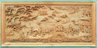 tranh gỗ hải phòng