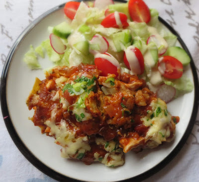 Simple Chilaquiles