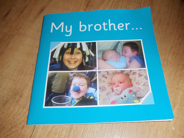 Mr brother personalised book