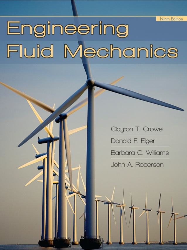 Solution Manual Engineering Fluid Mechanics by Crowe, Elger and Roberson pdf free download ...