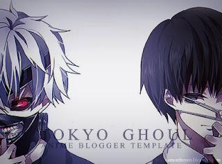 Tokyo Ghoul v2 Blogger Template