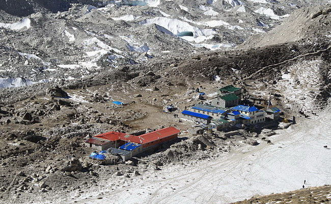 Xvlor Gorak Shep is the last stop to Everest South Base Camp and Kala Patthar
