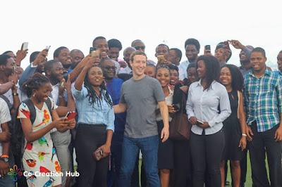 Image result for mark zuckerberg in Nigeria