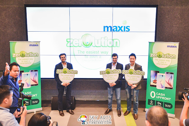Maxis Zerolution - The Easiest Way to own a Smartphone