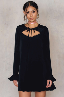 NA-KD, online store, fashion, black, dress