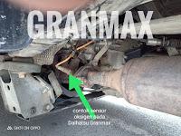 Harga Dan Fisik Sensor Oksigen Daihatsu Granmax dan Luxio
