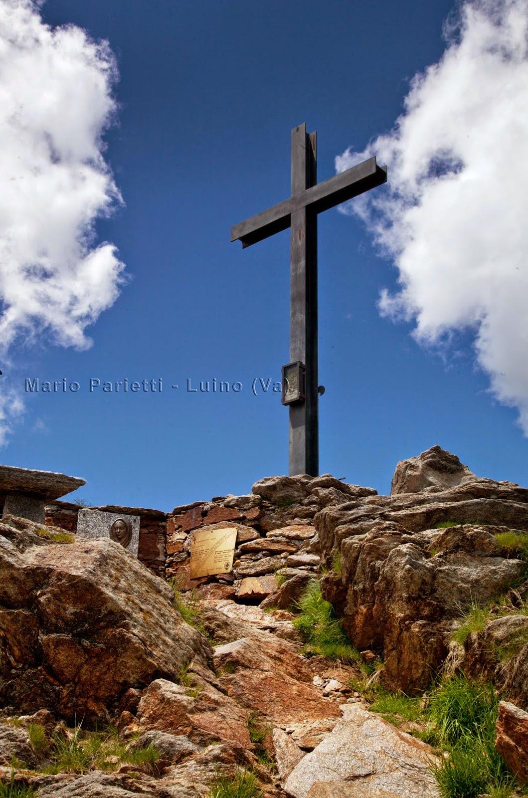 Croce di vetta del monte Zeda