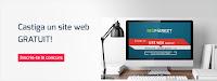 Castiga un site web in valoare de 399 Euro