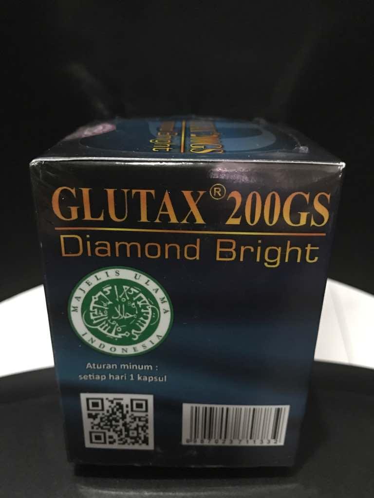 Glutax 200gs Diamond Bright Whitening 30 Kapsul Spec Dan Daftar Vitahealth Prostate Capsule Pemutih