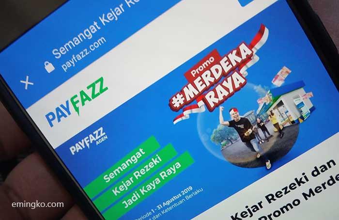 Cara Transfer Saldo Payfazz ke Rekening Bank Gratis Admin