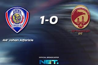 Arema vs Sriwijaya FC 1-0