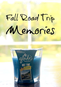 glade hit the road fall scent candle