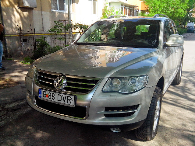 Vand VW Touareg inmatriculat