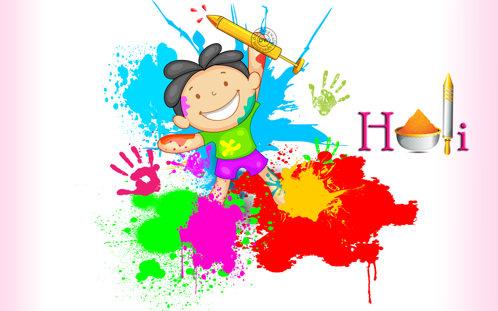 Happy Holi SMS Wishes Status in English Hindi 2017 For Facebook Whatsapp