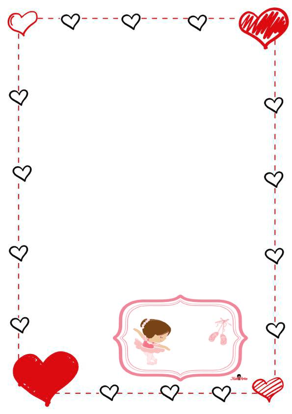 caratulas para cuadernos para niños y niñas de primaria de corazon