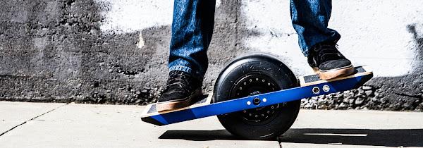 One Wheel 使用示意圖,數位時代翻攝自 One Wheel 官網。