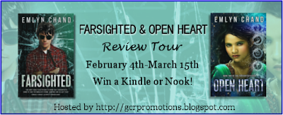 Blog Tour: Farsighted & Open Heart by Emlyn Chand