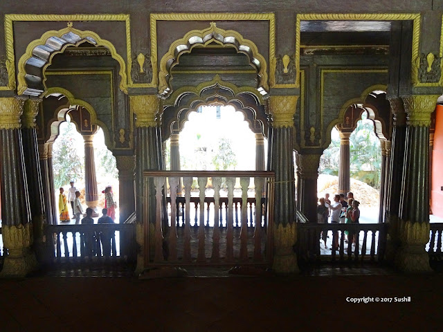 First Floor of the Tipu Sultan's Summer Palace