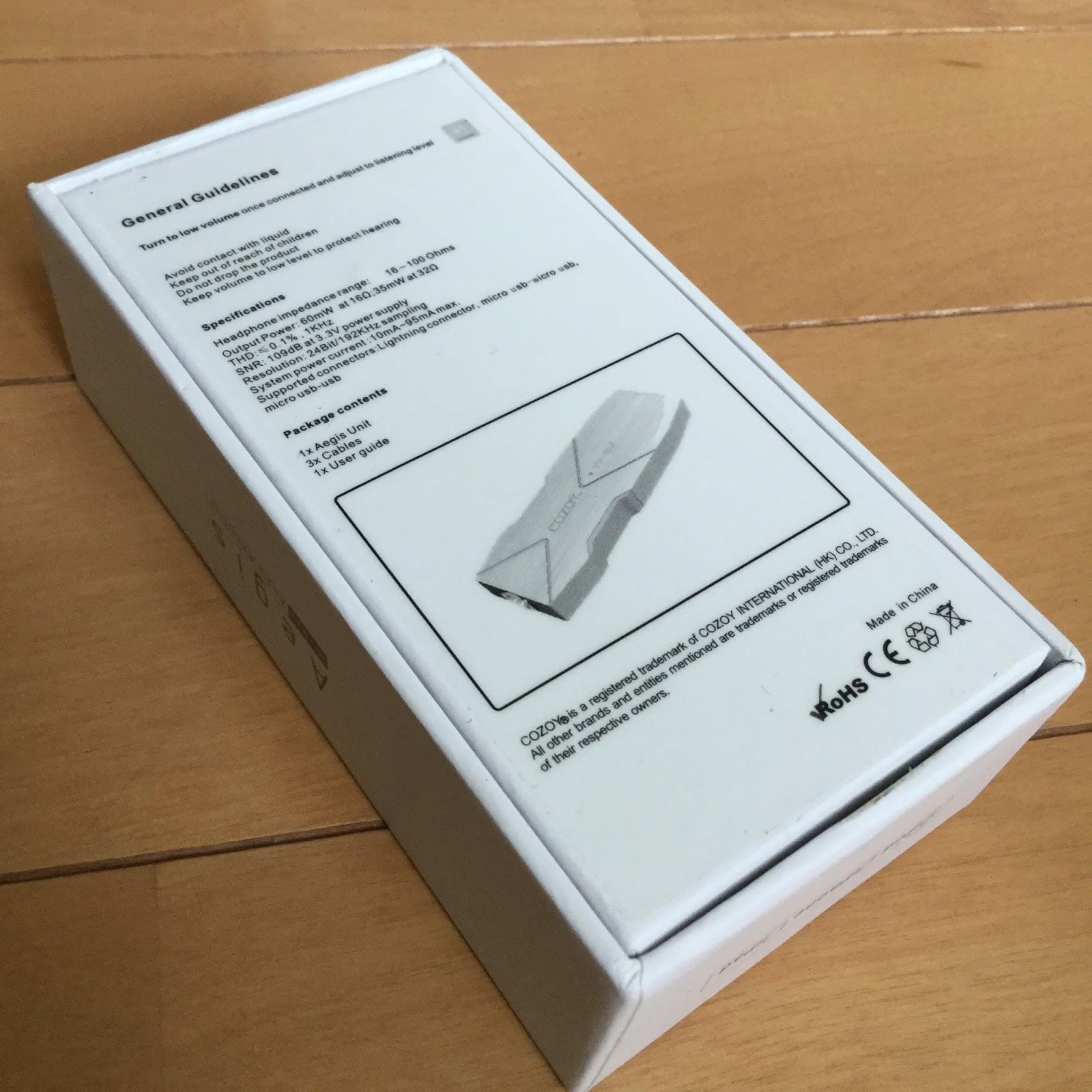 Cozoy Aegis Portable 24 192 Dac Amp Reviews Head Fi Org