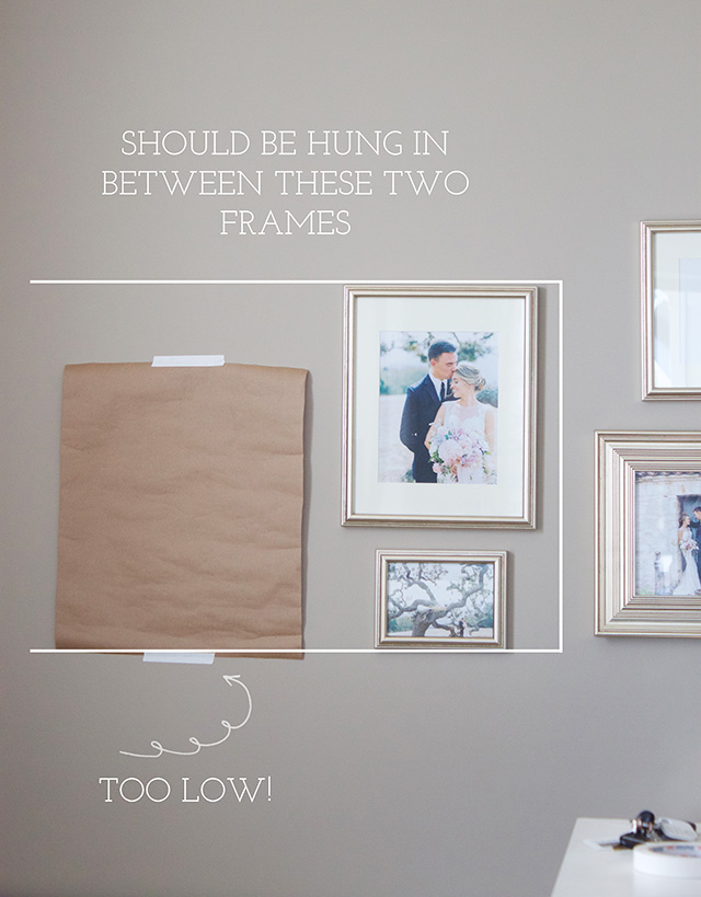 How To: Our Wedding Gallery Wall - Michaela Noelle Designs