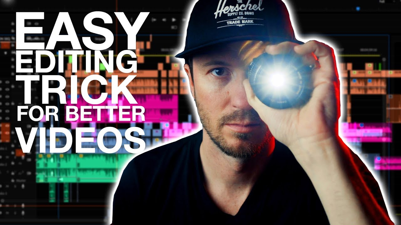 Magic Hands: EASY Editing Trick for BETTER VIDEOS