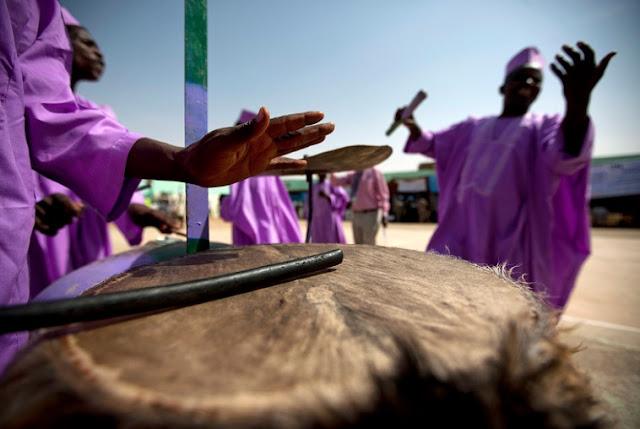 Darfur Sudan celebration of the end of violence