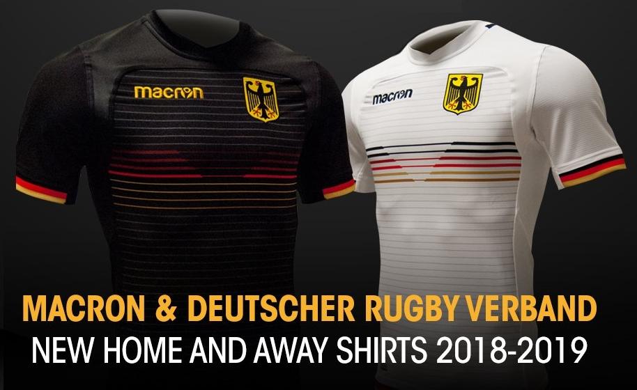 Macron lança novas camisas da seleção de rugby da Alemanha - Show de ... d468a70fea472