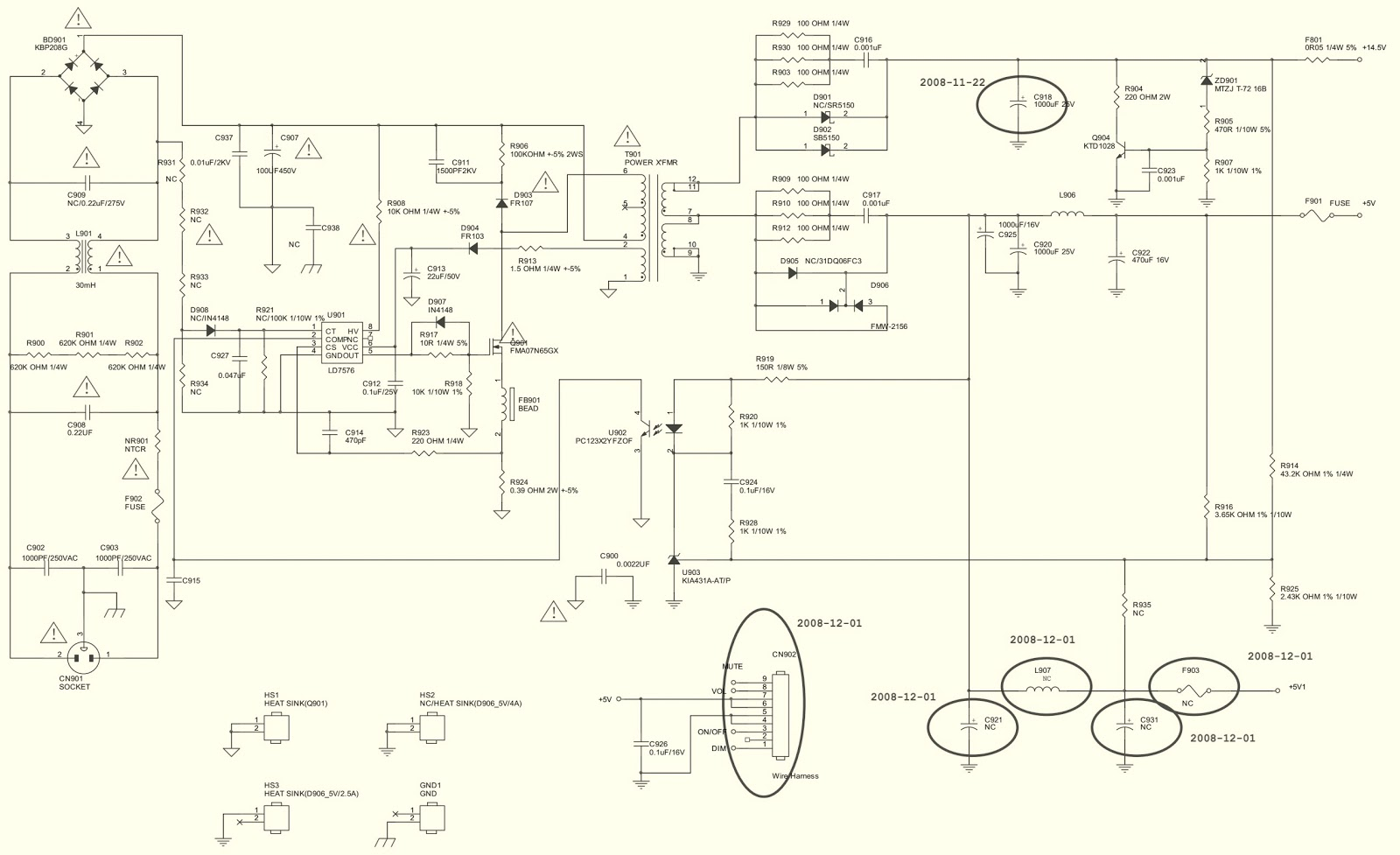 medium resolution of lcd monitor schematic diagram wiring diagrams aoc2236vwa lcd monitor circuit diagram 7155g2892 power board lcd monitor