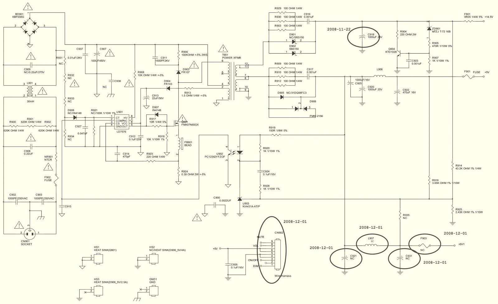 medium resolution of aoc2236vwa lcd monitor circuit diagram 7155g2892 power board dell lcd monitor schematic diagram lcd monitor schematic diagram