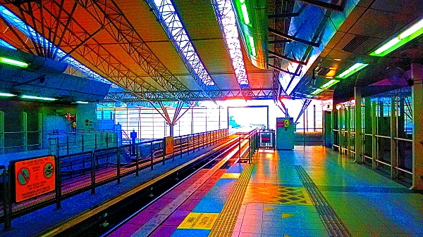 Mobile Photography, Colors of KL Sentral 01