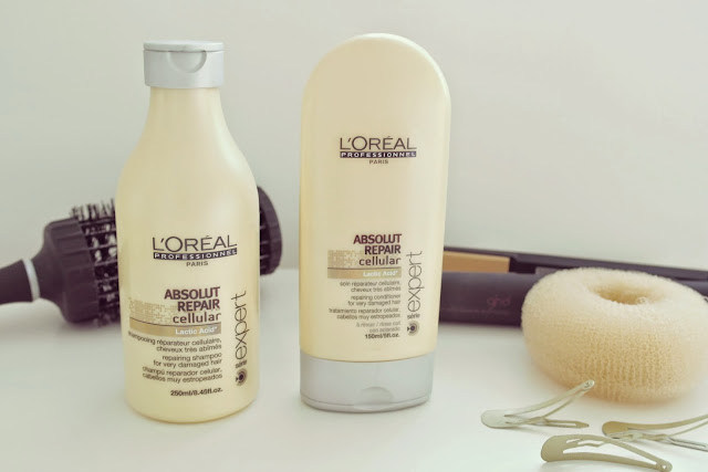 L'Oreal Professionel Absolut Repair Shampoo & Conditioner review
