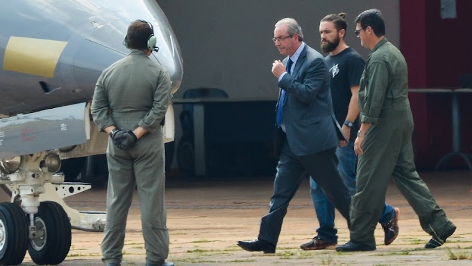 MUDANDO DE ENDEREÇO: Justiça autoriza transferência  de Eduardo Cunha para presídio no Rio de Janeiro