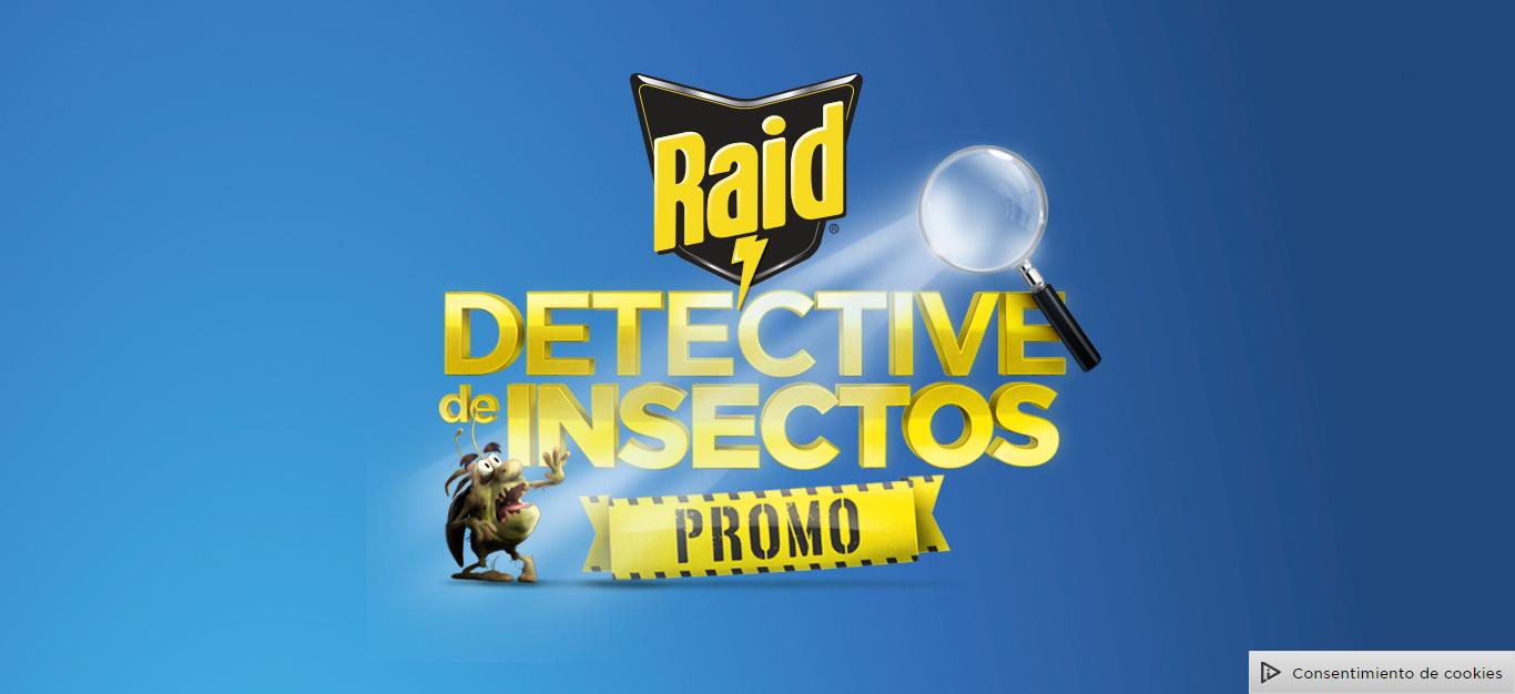 """Promo Raid 2018 """"Detective de Insectos"""""""