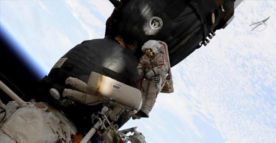 Conserto Buraco Soyus ISS