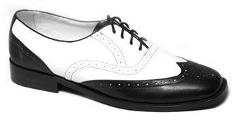 7cc81cb07 Pensando en las muselinas  Historia de  Los zapatos bicolor