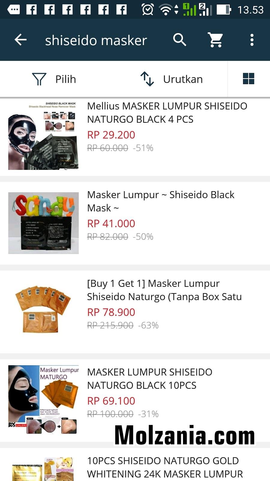Woman And Blogging Diarys Masker Naturgo Lumpur Shiseido Hasil Pencarian Merk Di Lazada