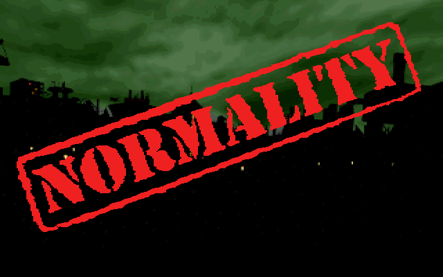 Normality PC title logo