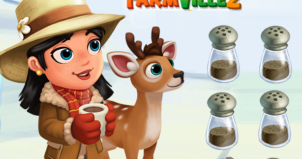 Fv 2 Black Pepper (x2) (FREE GIFT) - Farmville 2 Free Gift