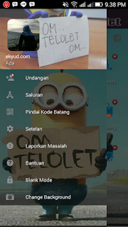BBM MOD Telolet Tema Minions Lucu v3.2.0.6 APK