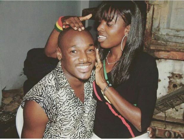 Check out this epic throwback picture of 2face and Annie Idibia