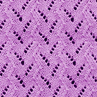 Eyelet Lace 35: Faux Braid | Knitting Stitch Patterns.
