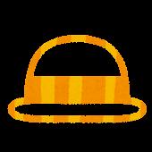 夏のマーク「麦わら帽子」