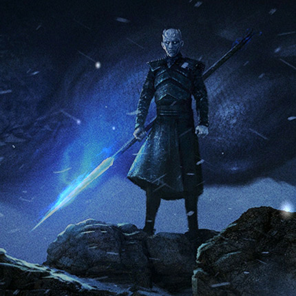 Game of Thrones - Night King Spear Wallpaper Engine